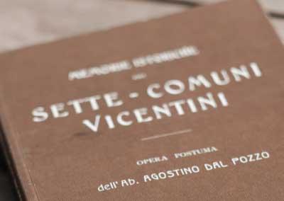 Memorie Istoriche dei Sette Comuni Vicentini